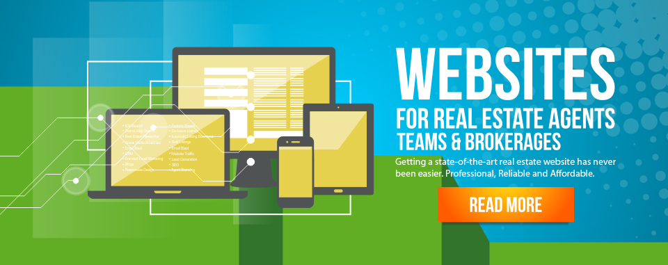 Real Estate Websites For Agents, Teams and Brokerages